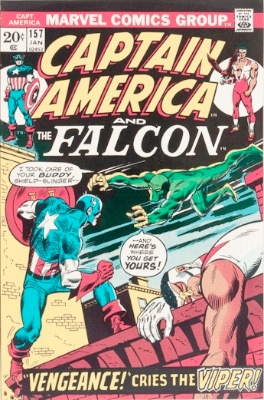 Origin and First Appearance, Viper, Captain America #157, Marvel Comics, 1973. Click for value