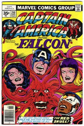 Captain America #210 Marvel 35c Price Variant
