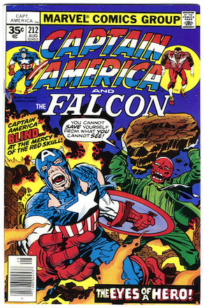 Captain America #212 35 Cent Price Variant