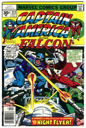 Captain America #213 35 Cent Price Variant