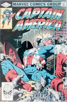 Origin and First Appearance, Vermin, Captain America #272, Marvel Comics, 1982. Click for value