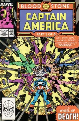 Origin and First Appearance, Crossbones, Captain America #359, Marvel Comics, 1989. Click for value