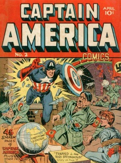 Golden Age Captain America comic #2 (Timely, 1941)
