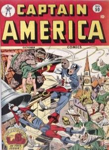 Captain America #50 Fights a King-Kong-like beast!