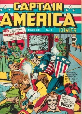 Captain America Comics #1: First Appearance, Captain America. Click to see values