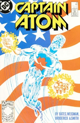 Origin and First Appearance, Major Force, Captain Atom (vol. 3) #12, DC Comics, 1988. Click for value