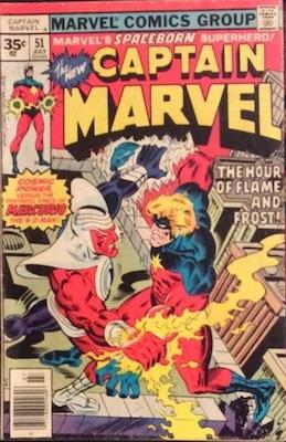 Captain Marvel #51 35 Cent Price Variant