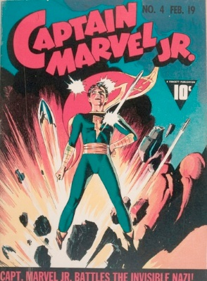Origin and First Appearance, Sabbac, Captain Marvel, Jr. #4, Fawcett / DC Comics, 1943. Click for value
