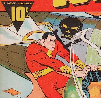 Original Cpt. Marvel in Whiz Comics #2 (#1)
