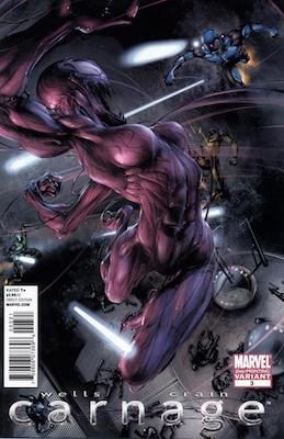 Carnage (2010) #3: 2nd Printing Variant. Click for values