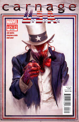 Carnage, U.S.A. #2. Click for values
