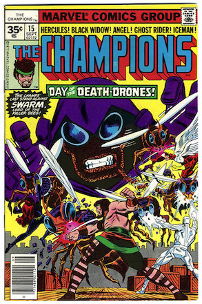 Champions #15 35 Cent Price Variant