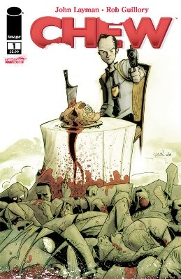Hot Comics #75: Chew #1. Click to buy a copy