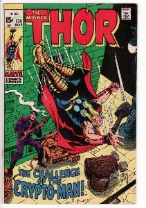 Collection of Thor Marvel Comics