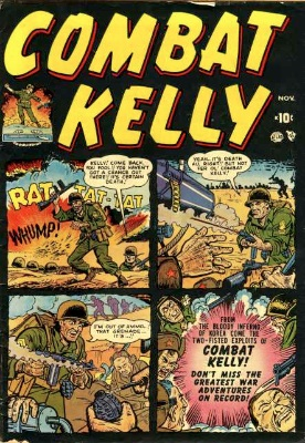 Combat Kelly by Atlas Comics. First series 1951-57. Click for values