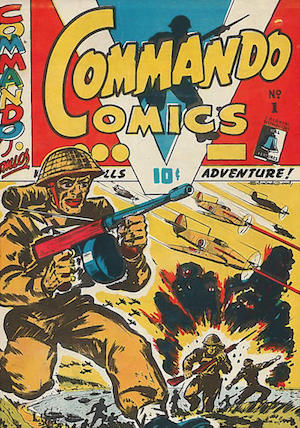 Canadian Whites: Bell Features Commando Comics #1