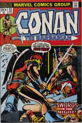 Conan the Barbarian #23 (February 1973): First Appearance, Red Sonja. Click for value