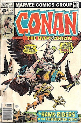 Conan the Barbarian #75 Marvel 35c Price Variant