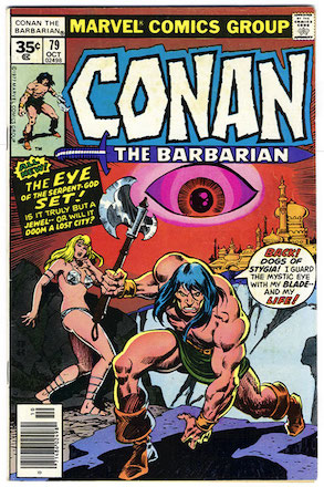 Conan the Barbarian #79 Marvel 35 Cent Price Variant