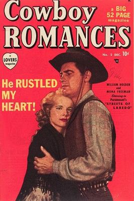 Cowboy Romances #2: Rare! Click for value
