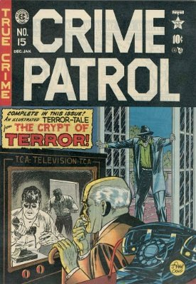 Crime Patrol #15 from EC Comics. Click for values