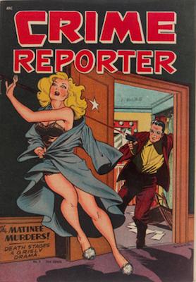 Crime Reporter #2: Matt Baker cover. Click for values