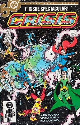 Crisis on Infinite Earths #1. Click for values