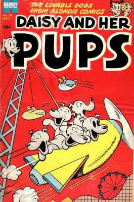 Daisy and her Pups was another spin-off title. Click for values