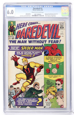A clean, nicely-presenting CGC 6.0 of Daredevil #1 is going to be a good investment. Click to buy your copy