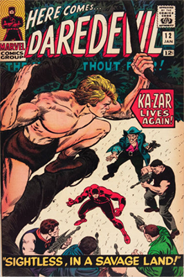 Click here to see the value of Daredevil Comics #12