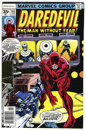 Daredevil #146 Marvel 35c Price Variant