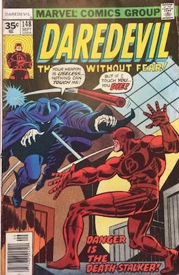 Daredevil #148 35 Cent Price Variant