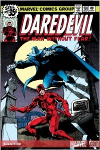 Daredevil: #9 most popular of Marvel Comics characters