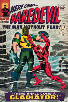 Click here to check the value of Daredevil Comic #18