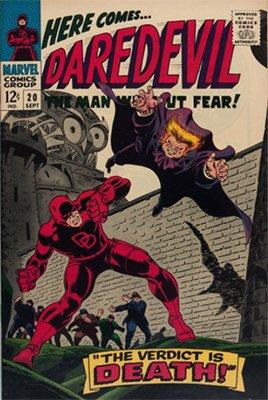 Click here to check the value of Daredevil Comic #20