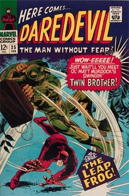 Click here to check the value of Daredevil Comic #25