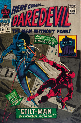 Click here to check the value of Daredevil Comic #26
