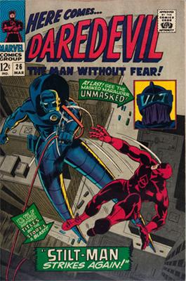 Click here to check the value of Daredevil Comic #26