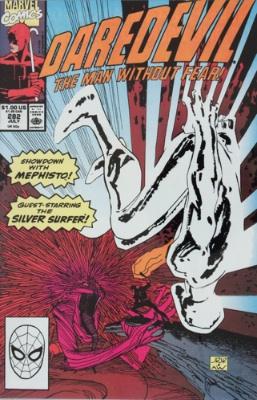 Origin and First Appearance, Blackheart, Daredevil #270, Marvel Comics, 1989. Click for value