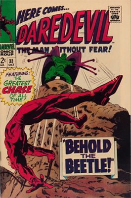 Click here to see the value of Daredevil #33