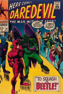 Click here to see the value of Daredevil #34