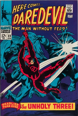 Daredevil #39. Click for value