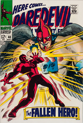 Daredevil #40. Click for value