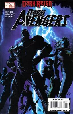 Karla Sofen (First Appearance as Ms. Marvel, Dark Avengers #1, March 2009). Click for value