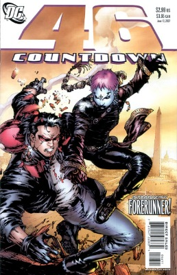 Origin and First Appearance, Forerunner, Countdown #46, DC Comics, 2007. Click for value