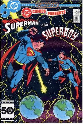 DC Comics Presents #87. Click for current values.