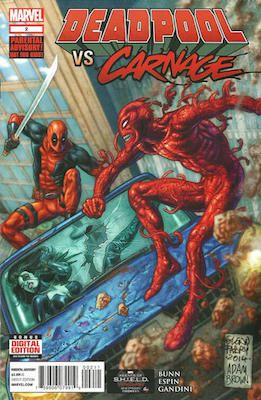 Deadpool vs Carnage #2. Click for values