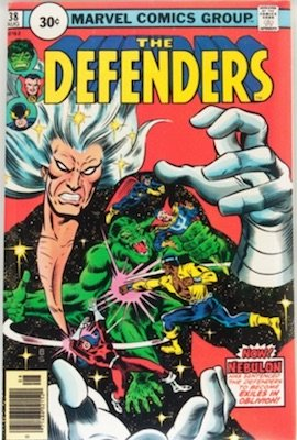 Defenders #38 Price Variant 30c Edition August, 1976 Circle Price