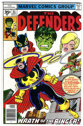 Defenders #51 35 Cent Price Variant