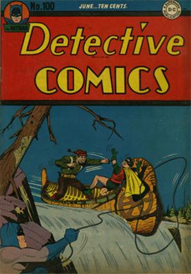 Detective Comics #100 (June 1945): Landmark Issue. Click for values